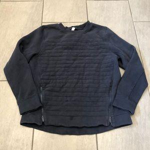 Lululemon Pullover Navy Long Sleeve Top